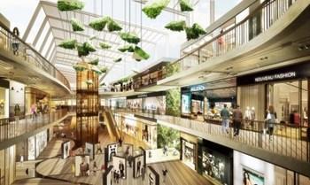 スキー場も完備!バンコク郊外に2つの巨大商業施設が完成-吹き抜け.jpg